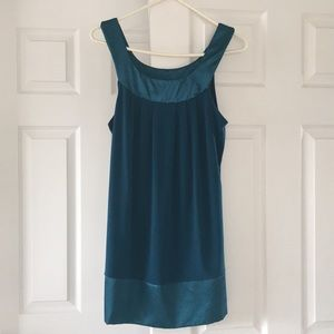 Turquoise tank top/dress